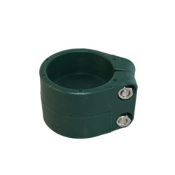 Accessoires grillage rigide : Colliers poteau rond vert RAL 6005