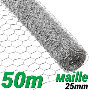 Grillage souple : Grillage triple torsion 50m