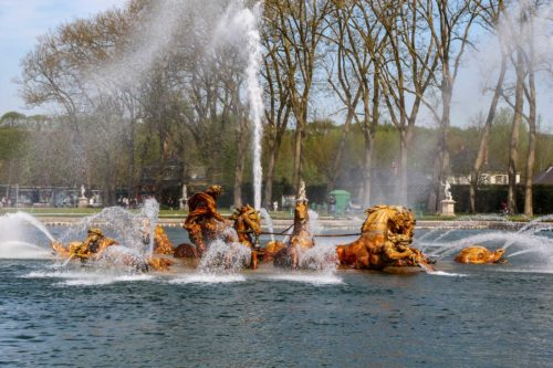 fontaine animaux versailles