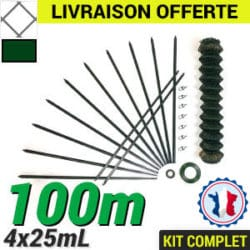Grillage souple : Kit Grillage simple torsion 100m