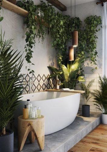 Urban Jungle Salle De Bain